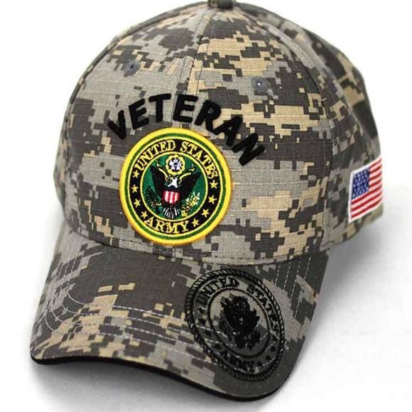 Other - Veteran Camo Hat Cap